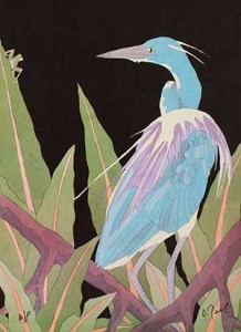 Tri-Colored-Heron-with-Frog-18x24-150-1-218x300